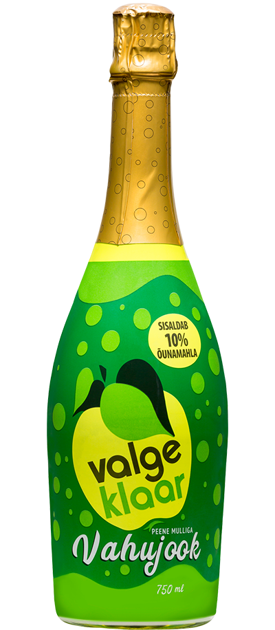 aaa37d56e9b The Valge Klaar carbonated drink is a favourite for both young and old. The  familiar tasting fizzy beverage contains 10% apple juice and with its  festive ...